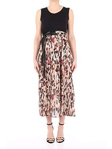 Liu Jo FA0020 T5975 Kleid Damen schwarz 42