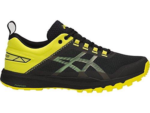 ASICS Men's Gecko XT Trail Running Shoe - Black/Carbon/Sulphur Spring, 10.0