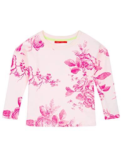 Oilily Cremefarbenes Sweatshirt mit Blumenmuster YS19GHJ201
