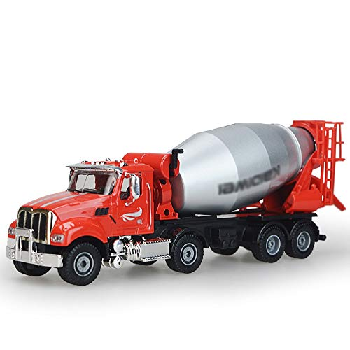 Xolye 01.50 Mischer-LKW Modell Alloy Technik Fahrzeug Spielzeug der Kinder Can Slide Metall Boy Toy Car Beton Zement Tanker Modell Geschenkideen