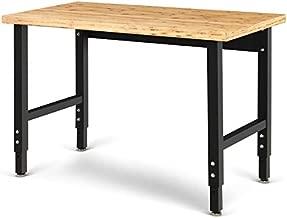 Goplus Adjustable Workbench, 48