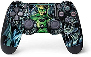 Skinit Decal Gaming Skin for PS4 Pro/Slim Controller - Officially Licensed Warner Bros Green Lantern and Villains Design