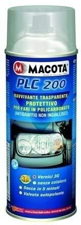 MACOTA PLC 200 RINNOVA FANALI RAVVIVANTE PER FARI PROTETTIVO VERNICE SPRAY 400ML