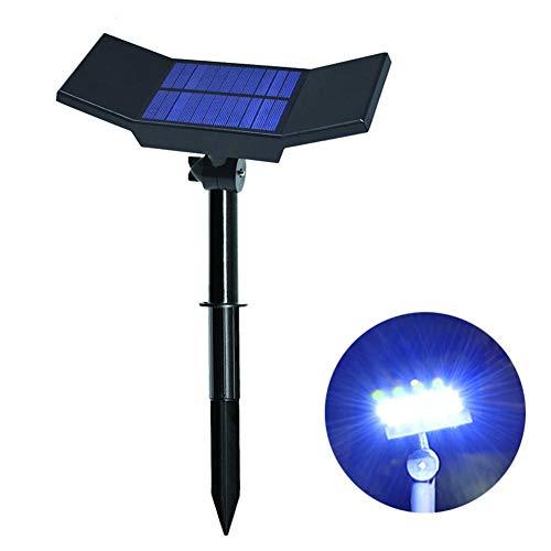DJSDFHB Solarvleugel LED in schijnwerper, buitenverlichting, waterdicht, tuinverlichting, wandlamp, landschapsverlichting, boomverlichting (2)