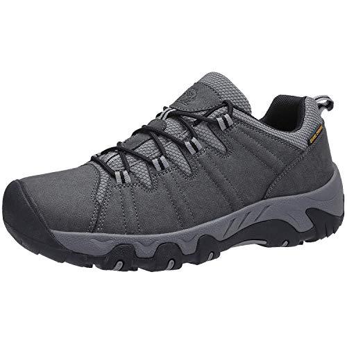 CAMEL CROWN Zapatillas Running Hombre, Zapatillas Trekking Hombre Impermeables Zapatos Hombres Deporte, Zapatillas de Senderismo Hombres