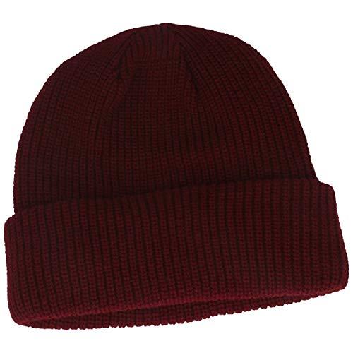 Strickmütze | Wintermütze | Beanie mit weichem Thinsulate Fleece-Futter & 7 cm...