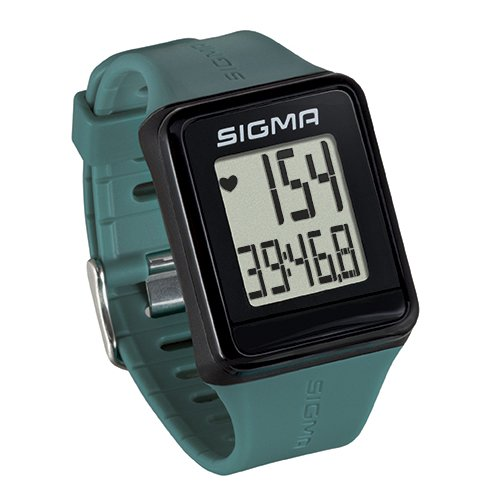 Sigma Sport ID.GO Reloj Pulsómetro, Unisex Adulto, Verde, Talla Única