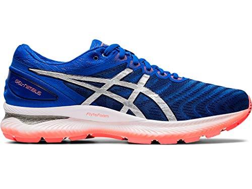 ASICS Gel-Nimbus 22 - Zapatillas de correr para hombre, Azul (Azul atún/plata pura.), 48 EU