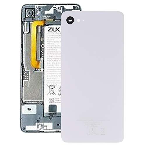 Liluyao Partes móviles Tapa Trasera de batería for Lenovo ZUK Z2 (Negro) (Color : Blanco)