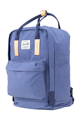NOWI Eleganter Kleiner Frauen- Damenrucksack 12l Mini Backpack (Navy)