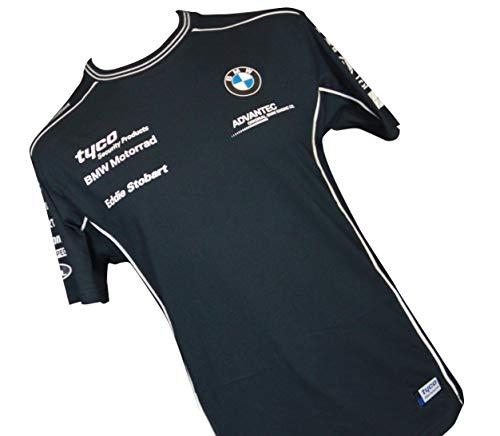 tyco BMW Motorrad Tシャツ 紺白ライン (XL)