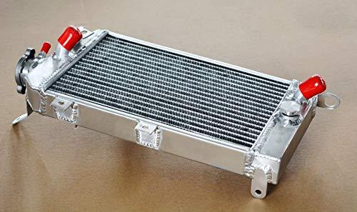 work_studio Aluminum radiator for Kawasaki KLR650 KLR 650 KL650E 2008-2014 2009 2010 2011 12
