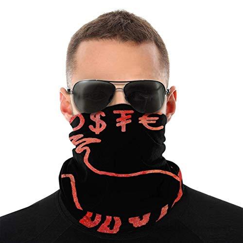 N/W Erika Costell - Pañuelo para la cabeza con protección solar, transpirable, para ciclismo, al aire libre, resistente al viento, color negro