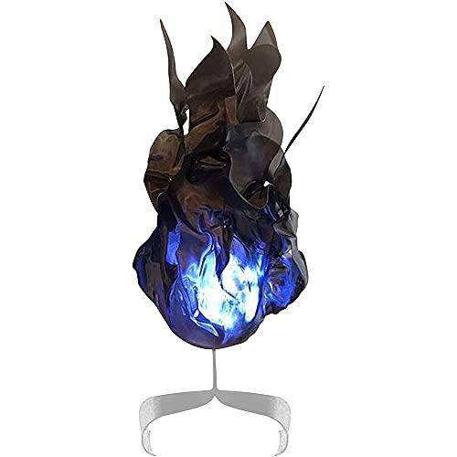 CJCSM Accesorio de Bola de Fuego Flotante de Halloween, Creativo 3D Levitate Flame Magic Props Bola de Llama Artificial para Cosplay Fiesta de Halloween