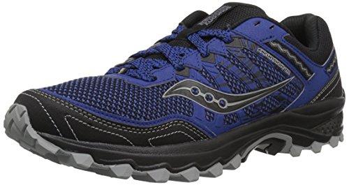 Saucony Men's Excursion TR12 Sneaker, Blue/Black, 8 M US