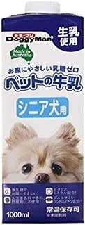 (まとめ)ドギーマンハヤシ ペットの牛乳 シニア犬用 1000ml【犬用 フード】【ペット用品】【×12セット】 ホビー エトセトラ ペット 犬 ドッグフード [並行輸入品]