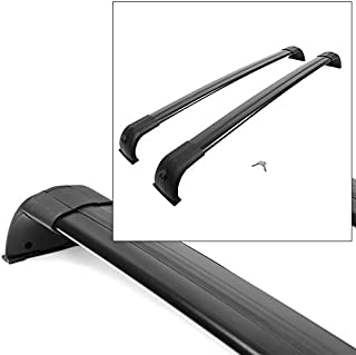 Roof Rack - Cross Bar 05-16 Land Rover Discovery 3 LR3 LR4 - Black Factory Style