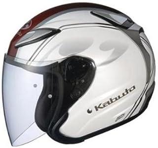 オージーケーカブト(OGK KABUTO)バイクヘルメット ジェット AVAND2 CITTA (チッタ) パールホワイト (サイズ:S)