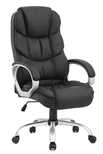 Ergonomic Office Chair Desk Chair Computer Chair with Lumbar Support Arms...