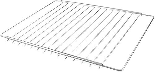 KAV - Oven Shelf Oven Grill Tray Rack Universal Replacement Oven Shelves extendable Adjustable Oven Rack Cooking Tray Shelf foe Most Oven - 310 mm deep x Width 370mm x 650mm (1)