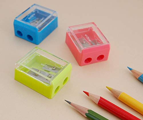 Tombow Ippo Pencil Sharpener, 2 Blade Size, Assorted Colors, 1-Pack Photo #4