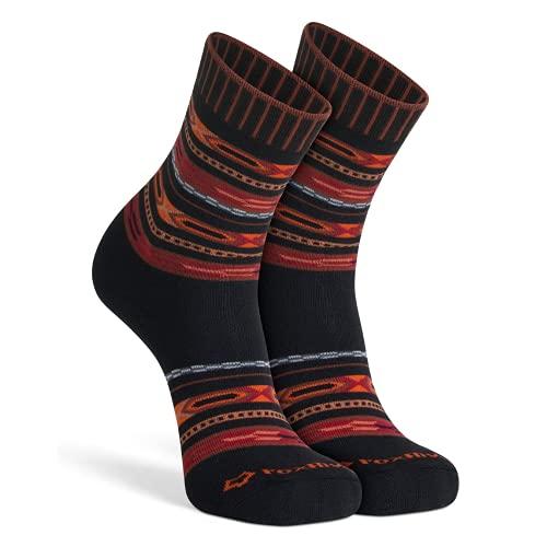 Fox River Damen Aztec Crew Socken, Braun, Größe S