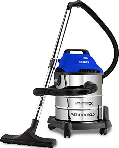 Eureka Forbes Wet and Dry Bold 20-Litre 1400 watts Multi Function Vacuum Cleaner (Blue)