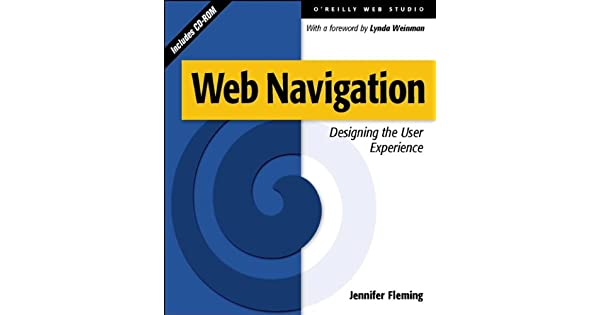 Web Navigation Designing The User Experience Fleming Jennifer Amazon Sg Books