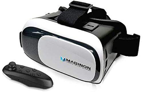 Mobile 3D Virtual Reality Brille VR Brille Maginon inlusiv Fernbedienung