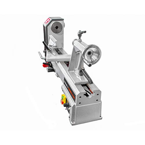 """Nova 71118 Comet II DR - Midi Lathe Flexible Woodworking System, 12"""", Powerful Electronic 3/4 HP variable speed"""