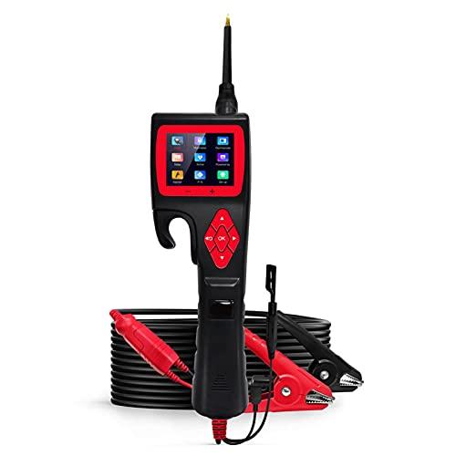 EVGATSAUTO Multímetro Kit de probador de Potencia de Circuito eléctrico, LCD automático...