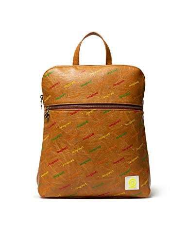 Desigual Back_Intra Nanaimo - Borsa a zaino, 11 x 35,5 x 28 cm, colore: Beige