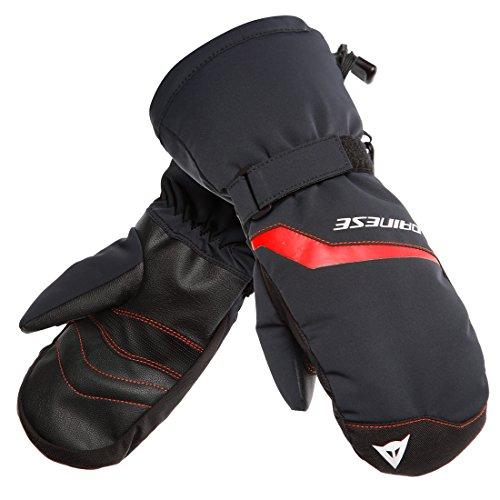 Dainese Scarabeo Jugend Ski Handschuhe Schwarz/Rot XL