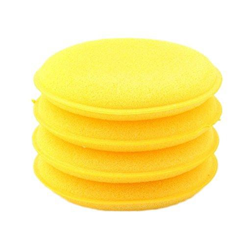iTemer 1 Pieza esponja de limpieza de automóviles pulido encerado esponja de compresión productos de limpieza de automóviles que contienen 12 pcs