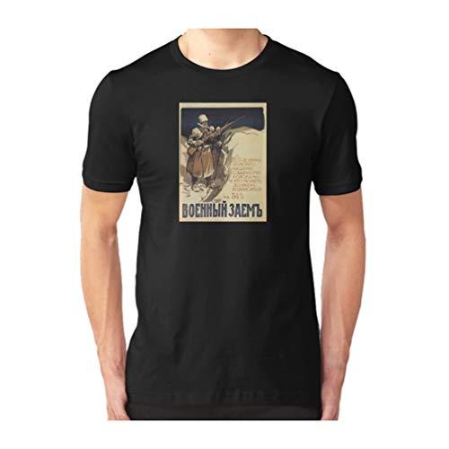WWI Russian Propaganda Poster by Ivan Vladimirov (1916) Slim Fit Tshirt