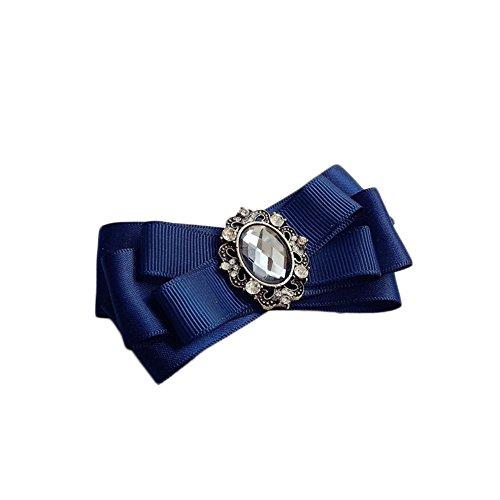 Lumanuby 1X Cravate Noeud Papillon Tie Homme Accessoire Décoration Costume Vêtements Neutres de Cravate en Soie Polyester