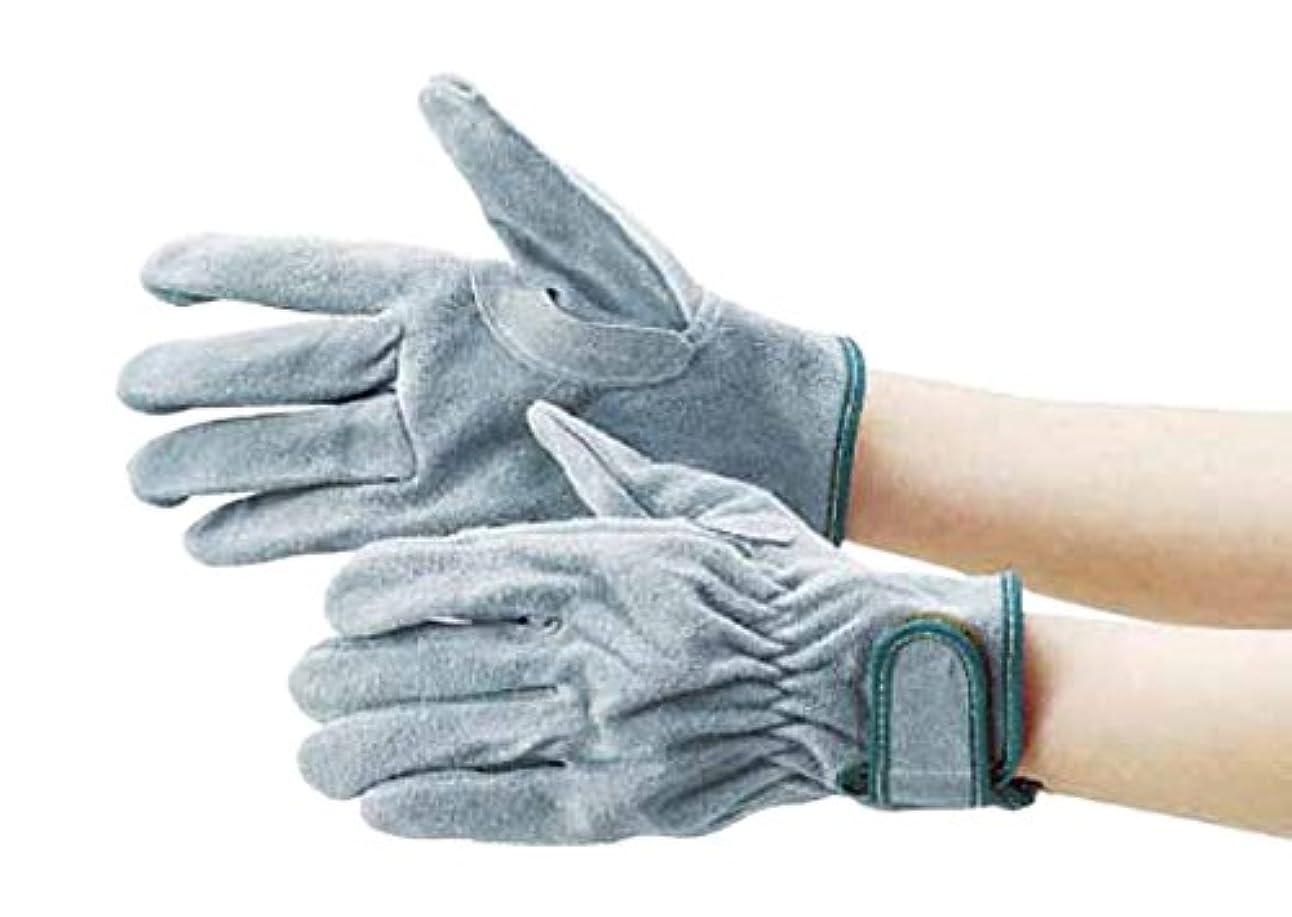 TRUSCO(トラスコ) オイル加工革手袋 マジック式 LLサイズ TYK-717PW-LL