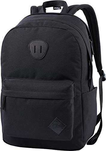 Nitro Urban Plus, Old School Daypack mit zusätzlichem gepolstertem Laptopfach, urbaner Streetpack, Alltagsrucksack, Schulrucksack, Schoolbag mit seitlichem Flaschenfach