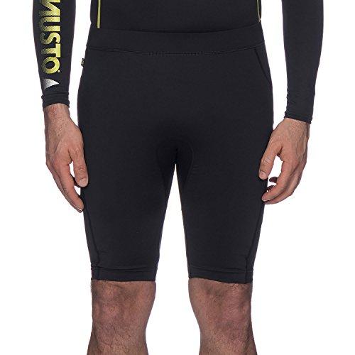 Musto Mens Shorts 3MM Championship Deck Segelschild Neoprenanzug Schwarz - Leichtgewicht. Atmungsaktiv - Leichtes Stretch