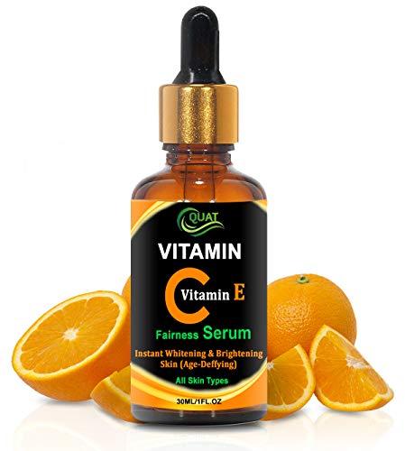 Quat Vitamin C & E Instant Whitening & Brightening Skin Fairness Serum