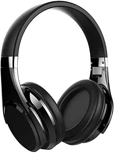 XUERUIGANG Auriculares de cancelación de ruido, auriculares inalámbricos a los auriculares Bluetooth, con MIC para llamadas telefónicas y control de voz, auriculares binaurales enchufables, para viaje