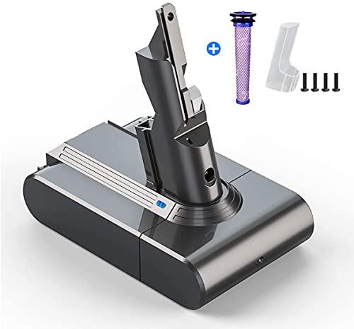 BuTure 4000mAh Akku für Dyson V7 SV11, 21.6V Dyson V7 Serie Ersatzakku kompatibel mit V7 Serie, V7 Trigger,V7 Fluffy,V7 Absolute, V7 Mattress Akku Handstaubsauge Li-Ionen Batterie(Nicht für V7 Animal)