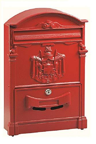 Blinky 27290-10 Residencia Postkasten, 26x9x41, Rot