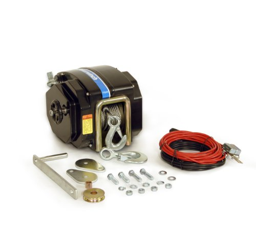 """Trailer Winch (40' x 7/32"""" Cable) - Powerwinch P77712"""
