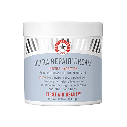 First Aid Beauty Ultra Repair Cream Intense Hydration Moisturizer for Face and Body - 12 oz.