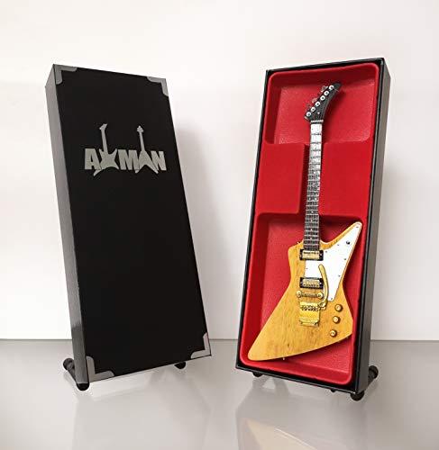 Allen Collins (Lynyrd Skynyrd) Réplica de guitarra en miniatura con estuche y...