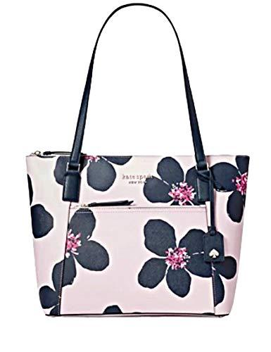 Kate Spade New York Cameron Grand Flora Pocket Tote Leather Handbag