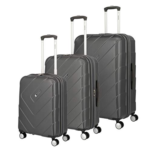 """Travelite Hartschalen-Koffer-Serie """"KALISTO"""" von travelite in 4 Farben: topmodisch, elegant, robust, 76 cm, 216L, Anthrazit"""