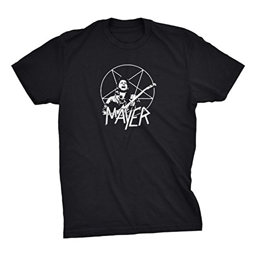 John Mayer Slayer Parody T-Shirt (Small) Black