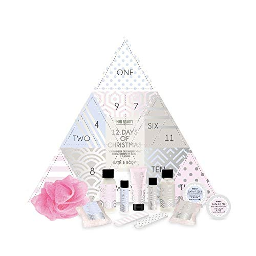 Mad beauty 12 Days of Christmas Advent Calendar - A Great Fun Present to Receive on Christmas Day to Help The Festivities Last a Little bit Longer!